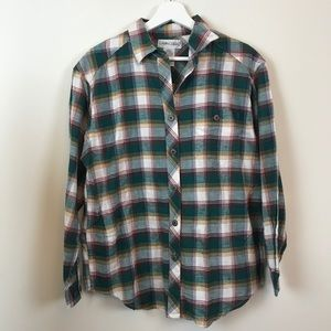Vintage Oversized Flannel Button Down